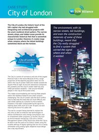 City of London case study paper