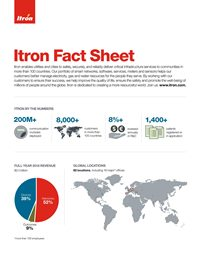 Itron Fact Sheet